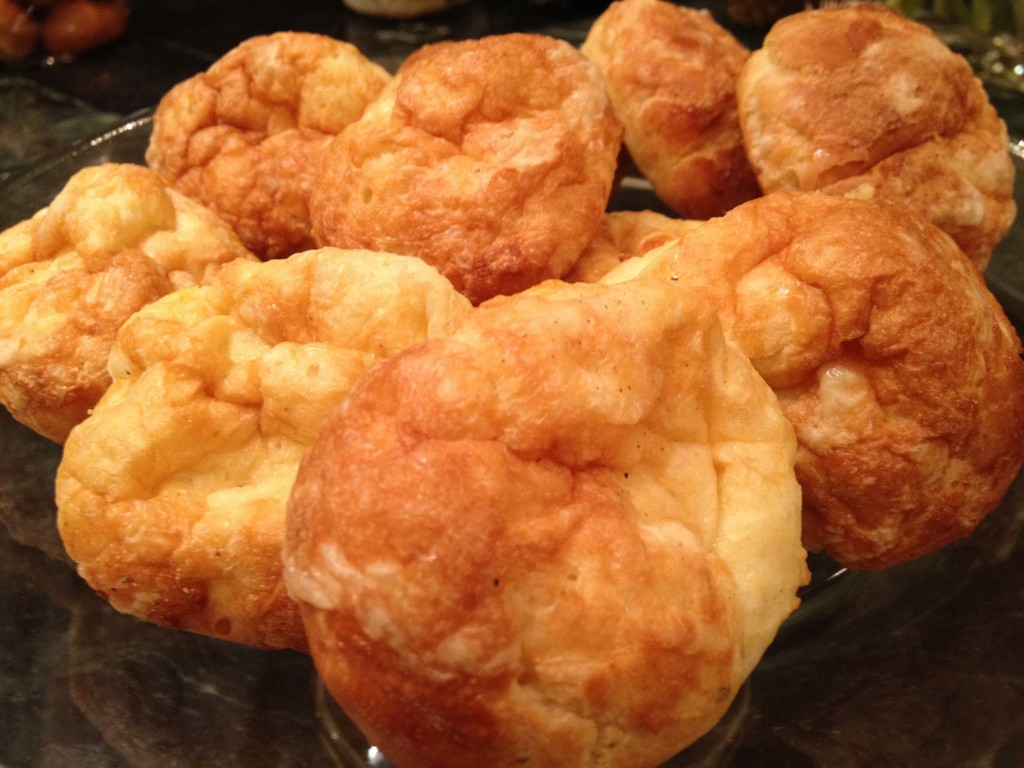 Cheese Puffs - Gougeres