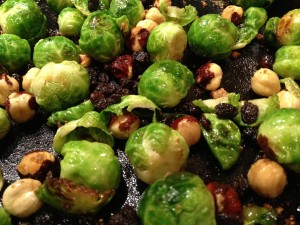 Brussels Sprout close up