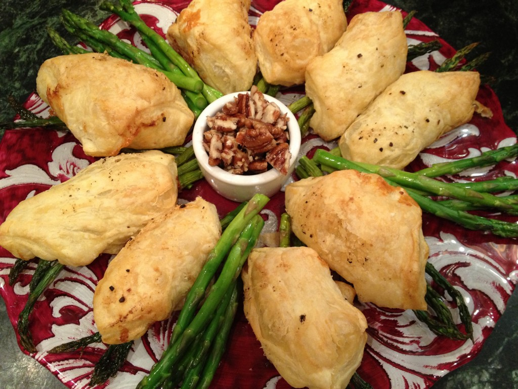 Asparagus in Puffed Pastry