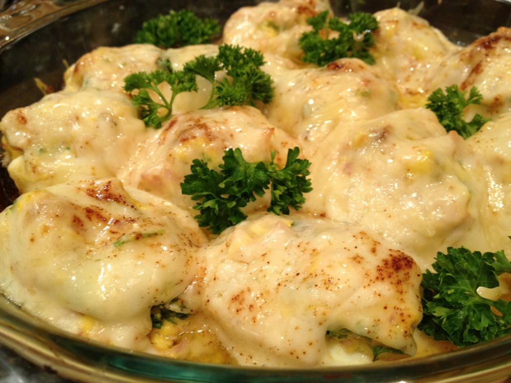 Gratin with Béchamel Sauce