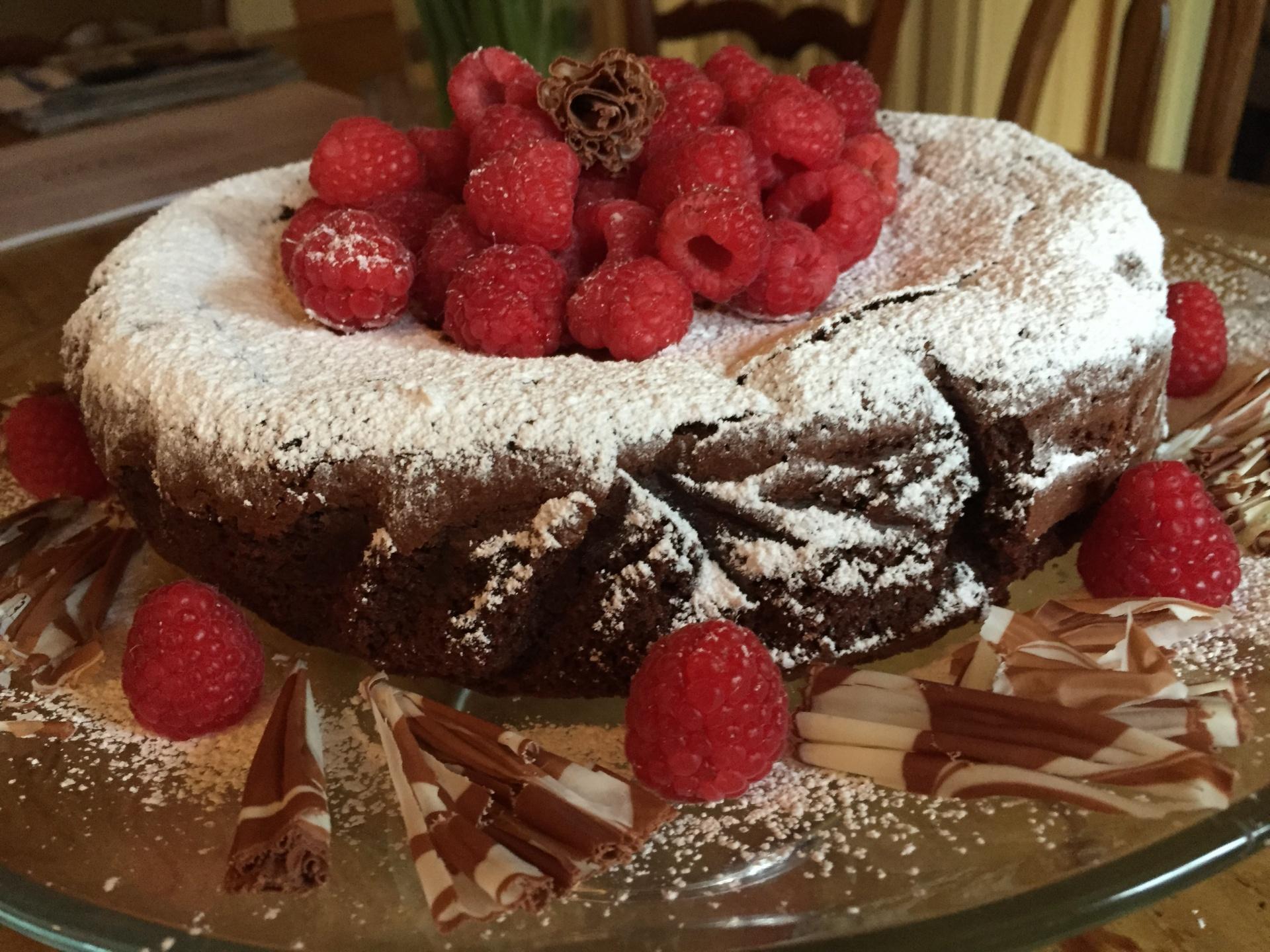 Flourless Chocolate Torta Caprese  A Chocolate Cake Recipe  The Brown Lounge