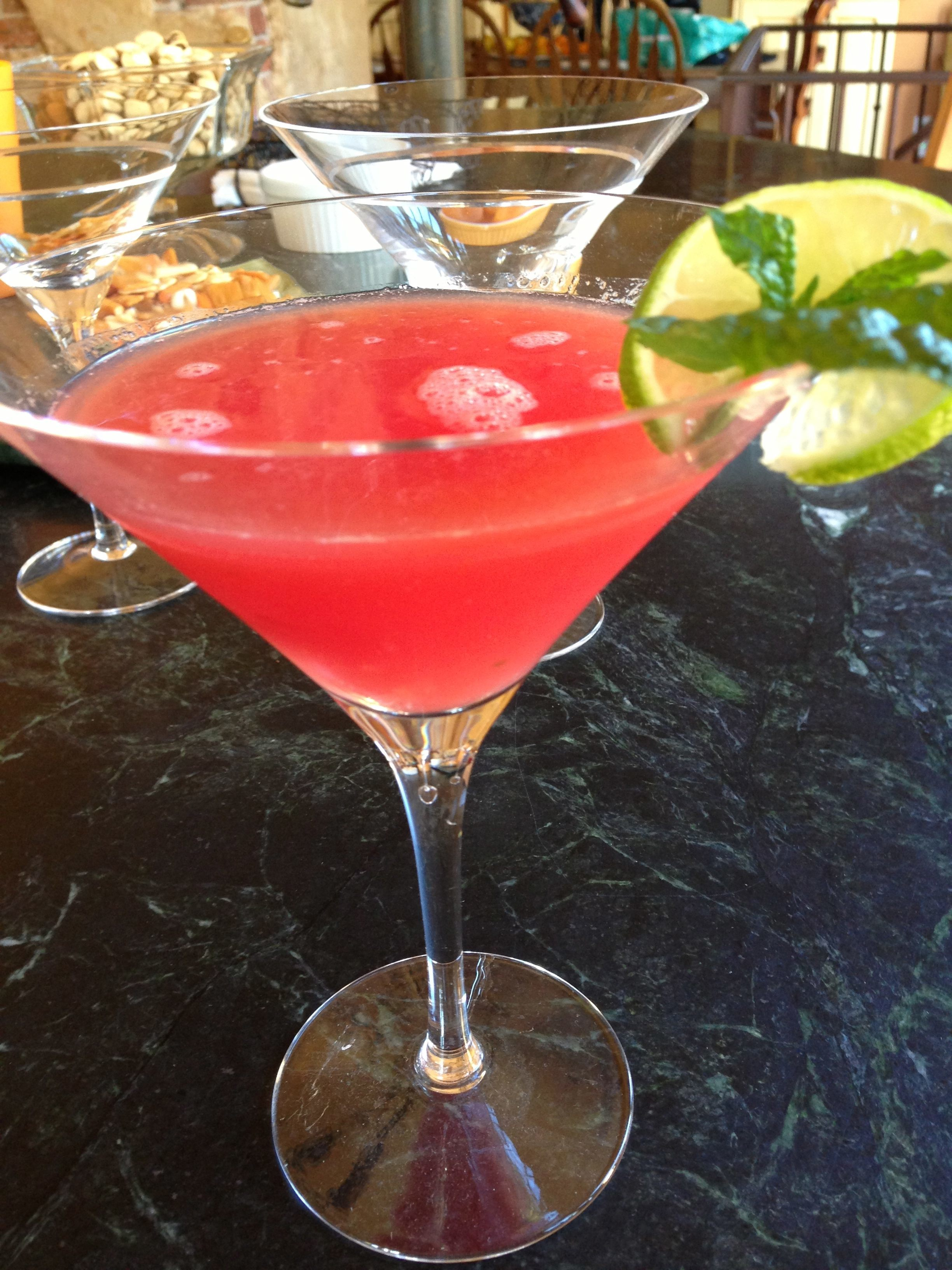 Watermelon Martini | The Brown Lounge