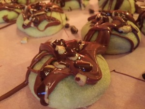 Chocolate Mint Thumbprints 3